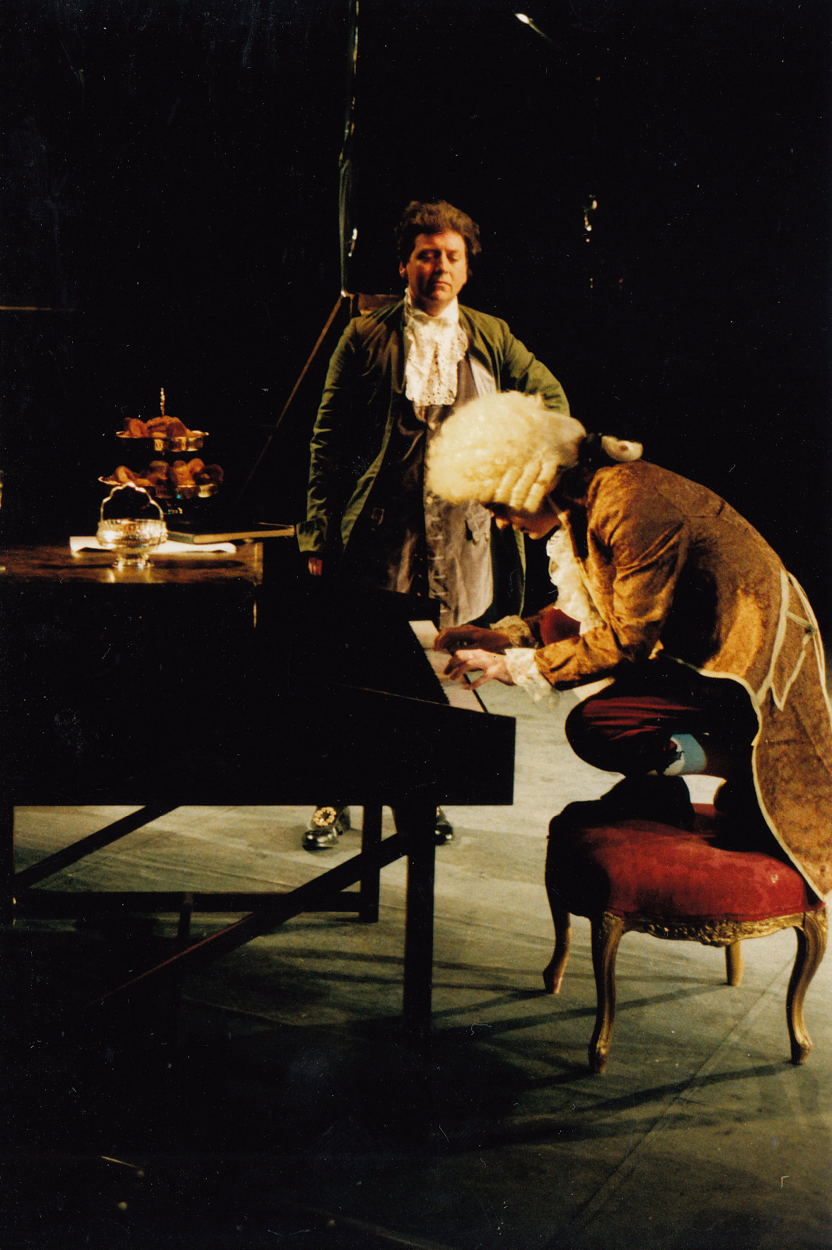 critiquing amadeus by peter shaffer Are you applying the same artistic license that peter shaffer  peter shaffer's amadeus for  macbean's reading) from critiquing the entire ring in.